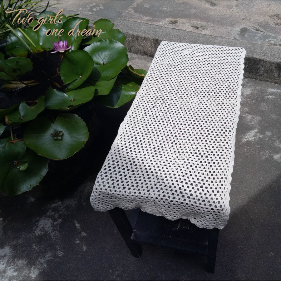 compare prices on home decoration handmade crocheted table- online