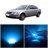 WLJH 13x Canbus No Error 2835 Led Dome Mirror Puddle Lamp Kit For VW Volkswagen Passat B5 Interior LED light Package 1998 2005