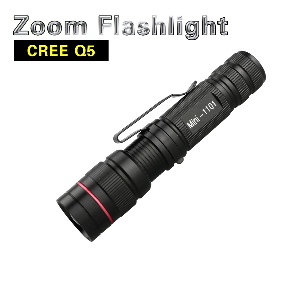 led flashlight q5 zoomable waterproof flashlights. Black Bedroom Furniture Sets. Home Design Ideas
