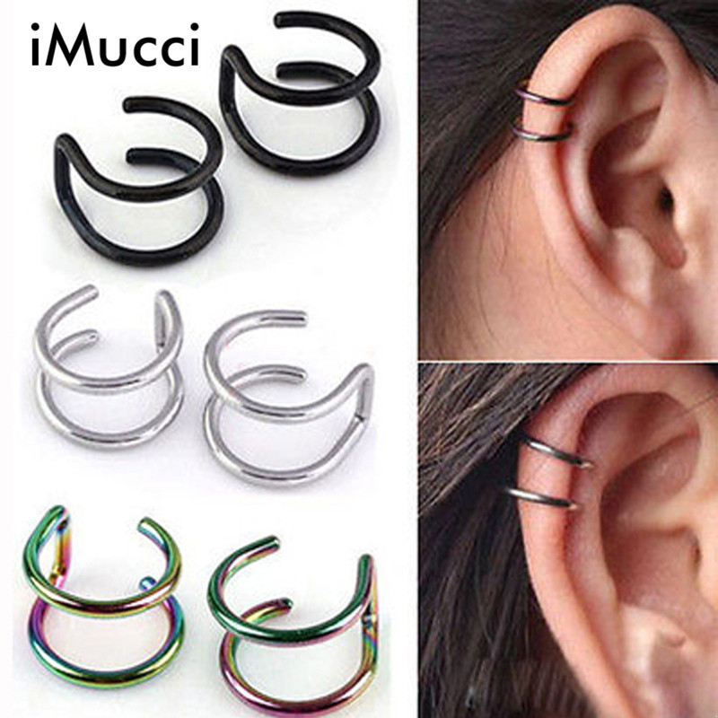 iMucci 1piece 5 Colors Gauge 18G Ball Surgical Steel Twister Earring Ear Cartilage Rings Tragus Piercing Jewelry