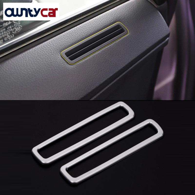 For <font><b>Lexus</b></font> <font><b>RX200t</b></font> 2016 Car Styling <font><b>Accessories</b></font> ABSChrome Door Air Conditioning Vent Frame Trim Stickers New Arrivals image