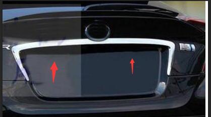 2016 2017 2018 ABS extérieur porte arrière moulures centrales Auto voiture arrière coffre couvercle moulage garniture pour Toyota C-HR CHR