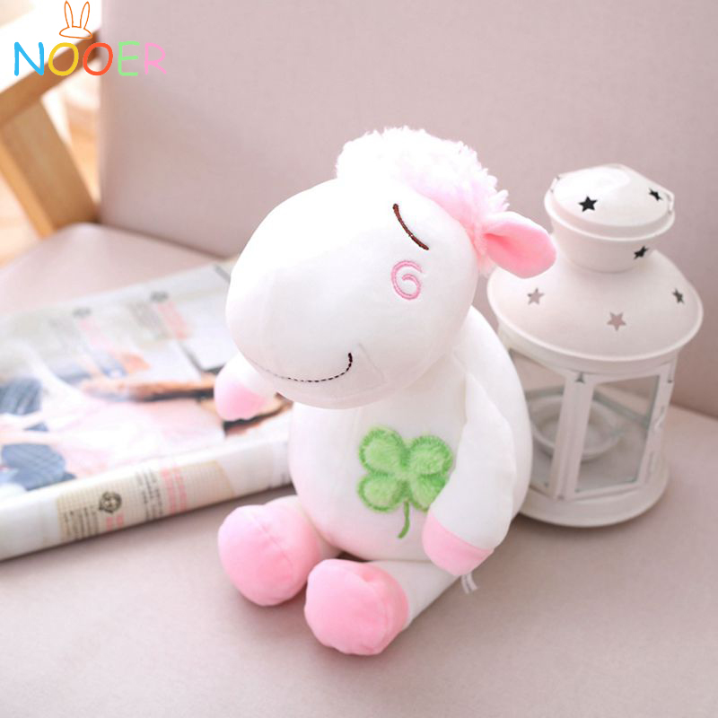 nooer soft sheep stuffed plush toy baby appease doll Kids toy soft sleeping toys for children Christmas gift baby toys