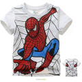 New 2015 boys t shirt t-shirts kids baby spiderman spider-man children clothing clothes roupas infantis menino vetement garcon