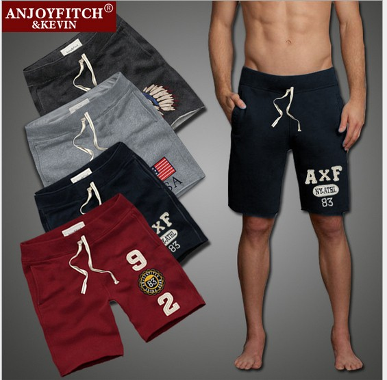 100% Cotton Men Short Pants  Summer Swimmer Short Pants for Man Casual Male Sporting Shorts Brand Designer Letter Trousers JMS