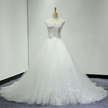 HIRE LNYER Vestido Casamento A-line Wedding Dresses With