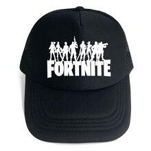 26 colores Fortnite 3d gorra de béisbol de impresión Daft Punk sombrero  varón hombres mujeres verano malla gorras de camionero s. 4fe48ad56c1