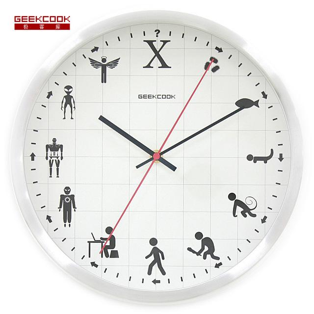 Saat Clock Wall Clock Reloj Duvar Saati Horloge Murale Relogio de parede Digital Wall Clocks Klok Relogio Parede Home decor 30CM