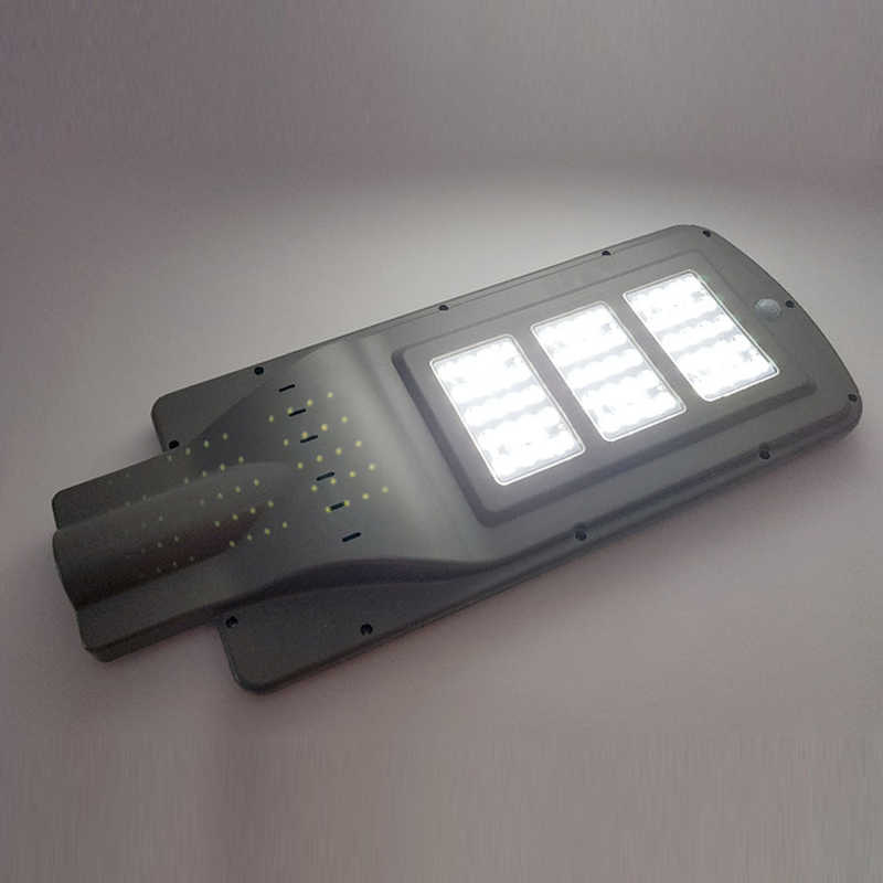 50Watt Atardecer hasta el Amanecer IP65 Impermeable Temporizaci/ón Farola Solar Atenuaci/ón de 5 Niveles con Poste SUPERU Farola Solar LED para Exteriores Control Remoto