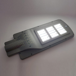 Image 4 - Gugi 60W Zonne straat Licht Met Motion Sensor Waterdichte Led Solar Light Outdoor Led Straat Lamp Verlichting Voor Plaza tuin Yard