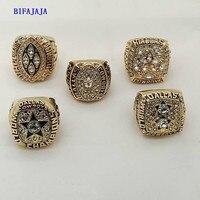 Drop Shipping Replica 5 Years 1971 1977 1992 1993 1995 Dallas Cowboys Championship Rings Sets Custom