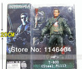 "Free Shipping The Terminator 2 Action Figure T-800 Pescadero Escape PVC Figure Toy 7""18cm 7"" 18CM"