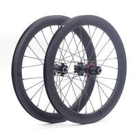 SILVEROCK 20 406 451 Alloy Wheelset Rim Disc Brake High Profile 74 100 130 135 11s for Tricycle Folding Bike Minivelo Wheels
