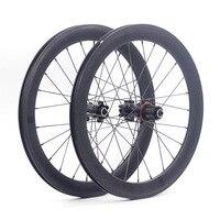 SILVEROCK 20 406 451 Alloy Wheelset Mini Velo Rim Disc Brake High Profile 74 100 130mm 135mm 11s Folding Bike Minivelo Wheels