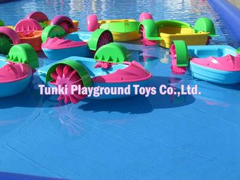 plastic hand boat toy for kids