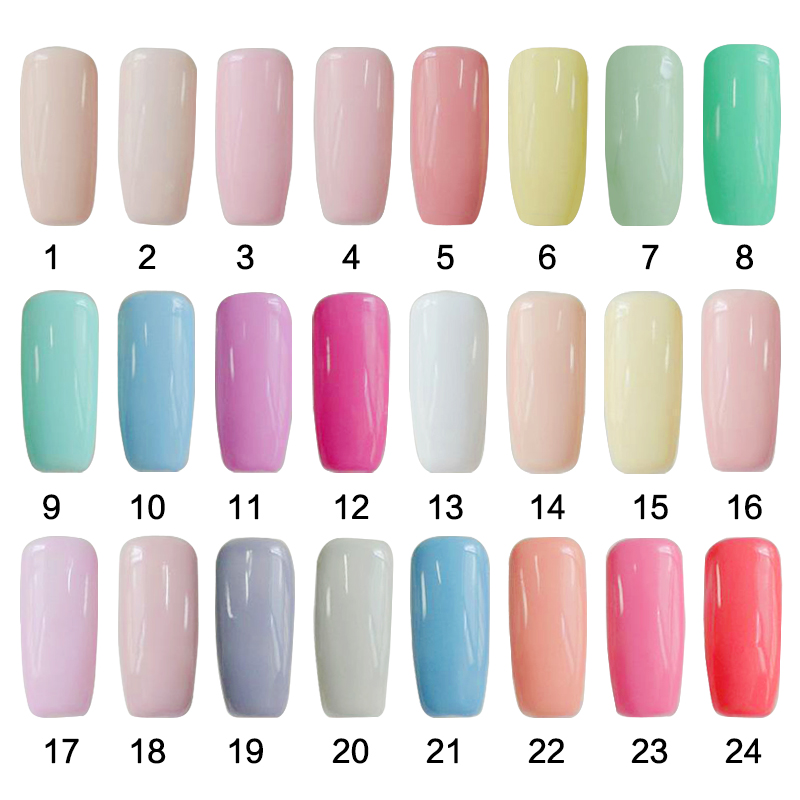 SIOUX UV Gel Nail Polish UV LED Shining Colorful 108 Colors 6ml Long ...
