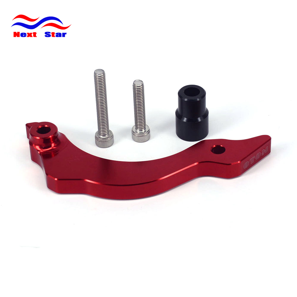 Motorcycle Red Front Chain Crankcase Guard Cove For ZONGSHEN NC250 250cc KAYO T6 K6 BSE J5 RX3 ZS250GY-3 4 Valves Parts oil filter clearance for zs177mm zongshen engine nc250 kayo t6 k6 bse j5 rx3 zs250gy 3 4 valves parts motocross page 5