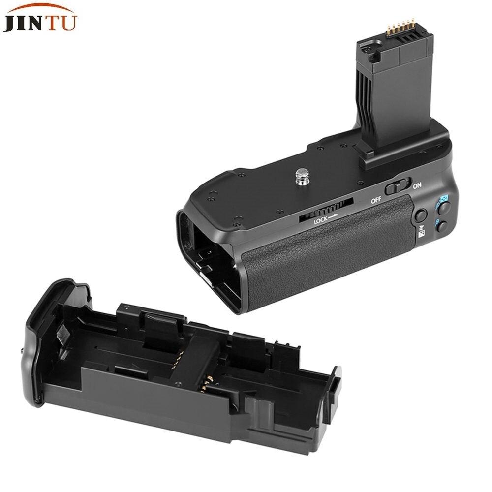 Poignée de batterie à obturateur Vertical JINTU pour appareil photo reflex numérique Canon 750D 760D T6i T6s X8i 8000D