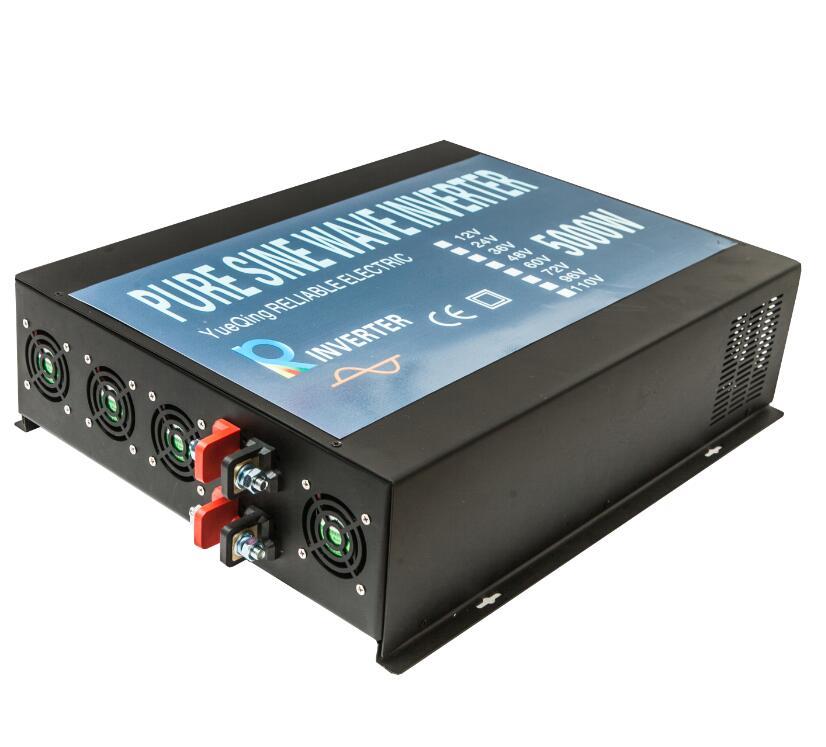 цена на CE EMC Approved 5000W 24V to 230V Off-grid Full Power Household Solar Power Inverter Pure Sine Wave Inverter