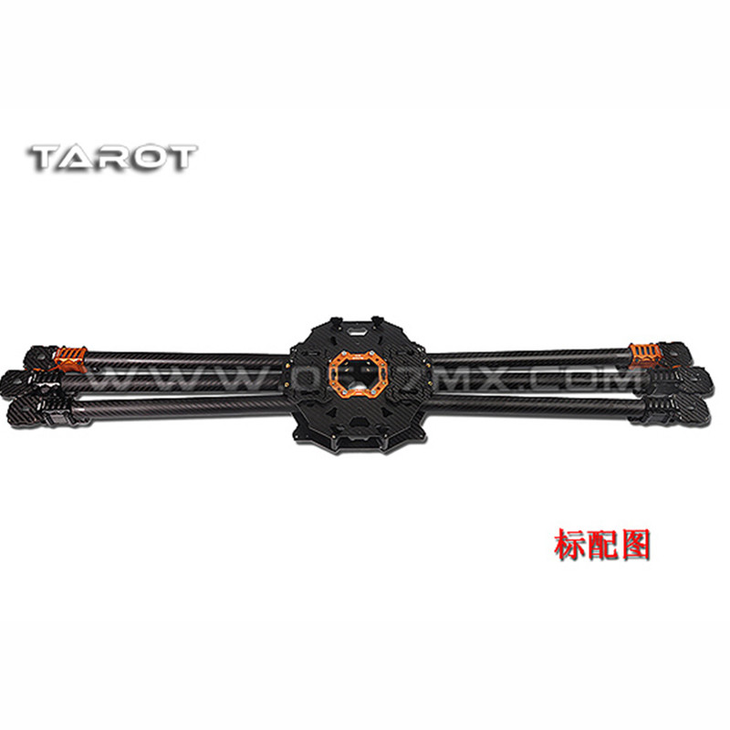 Tarot-RC T960 Folding Hexacopter Carbon Fiber FPV Multicopter Six Rotor Aircraft Frame Set TL960A f/ RC Photography