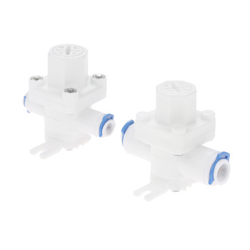 1Pc 1/4 3/8 OD Hose Quick Connection RO Reverse Osmosis System Water Pressure Relief Valve Water Pressure Reducing Regulator 3pcs 1 4 inch flow control valve ro reverse osmosis membrane water purifier waste water than the regulator control valve