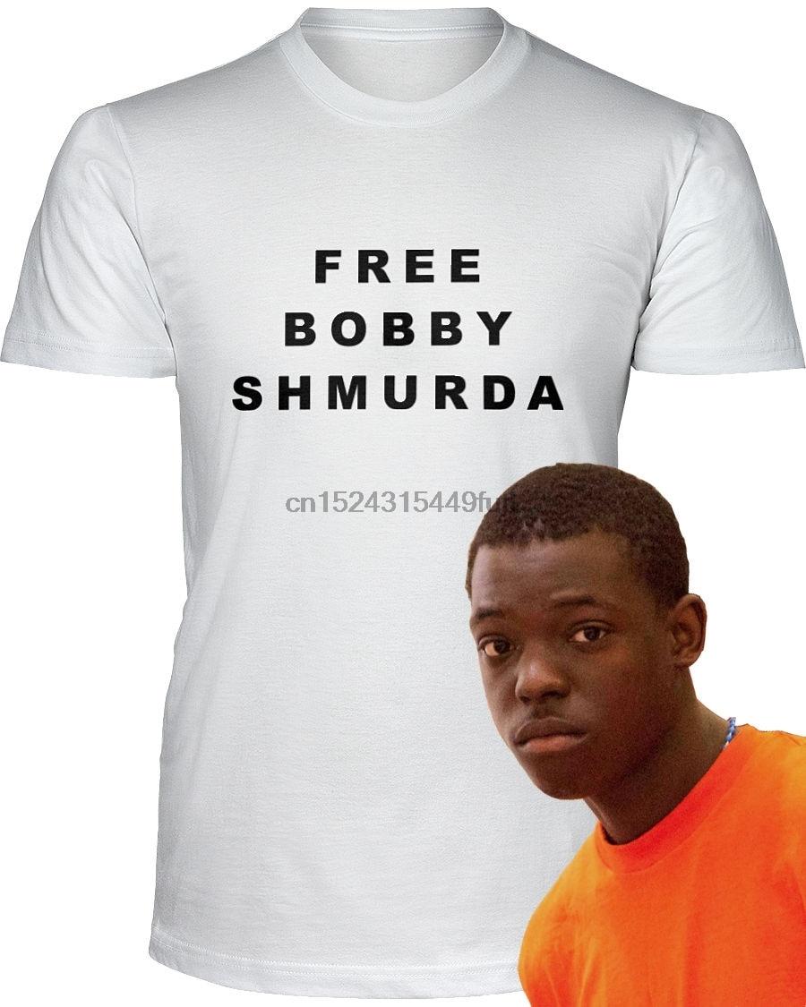 FREE BOBBY SHMURDA T Shirt Jail Prison Shmoney Dance-in T