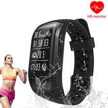 9 Tong GPS Smart Bande S908 Bluetooth Fréquence Cardiaque Moniteur de Sommeil Podomètre Intelligent Bracelet Fitness Tracker Montre Pour Android IOS D0