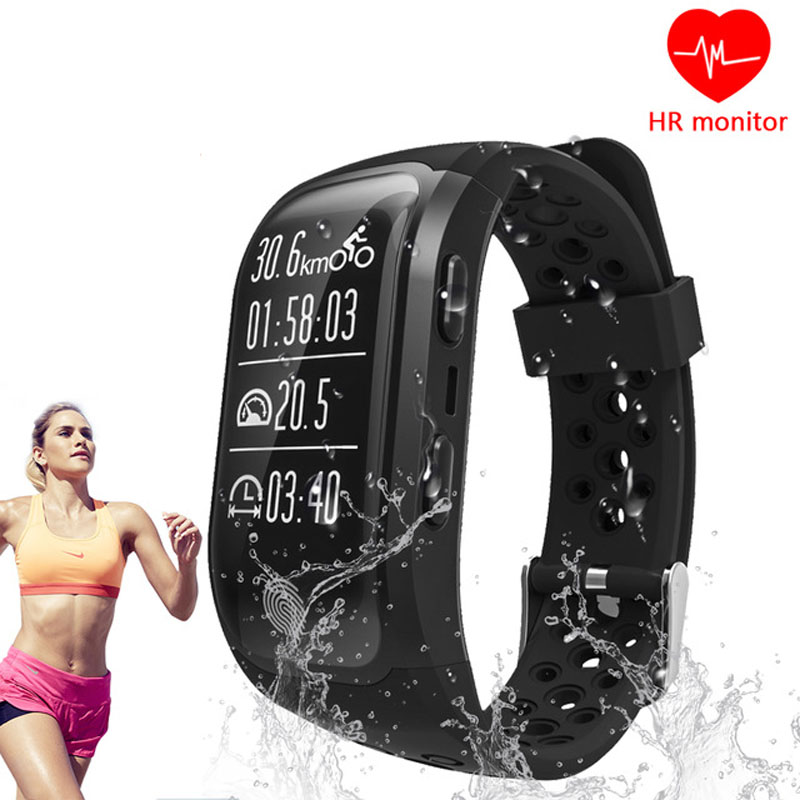 9Tong GPS Smart Band S908 Bluetooth Heart Rate Sleep Monitor Pedometer Smart Bracelet Fitness Tracker Watch For Android IOS C0
