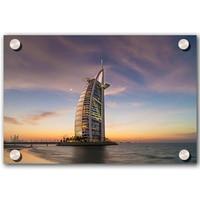 The Famous Burj Al Arab Tower Print On Acrylic Custom Acrylic Photo Prints Acrylic Photo Printing For Home Art