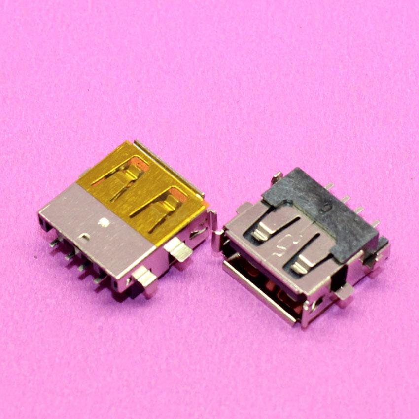 YuXi 2.0 USB Jack Connector For Lenovo Laptop Tablet Etc USB Port 4pin SMD