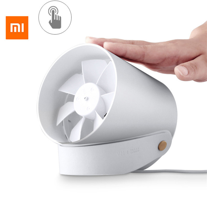 Xiaomi VH Fan Stylish Double-blade Mute Cycle Desktop silent fan low noise Touch Sensor Switch and Second Gear Adjustable xiaomi vh fan stylish double blade mute cycle desktop silent fan low noise touch sensor switch and second gear adjustable
