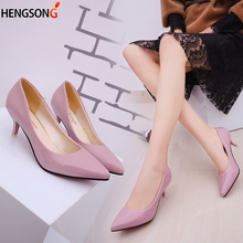 New Fashion Nude hallow Mouth Sexy Fashion Women Shoes Office High Heel