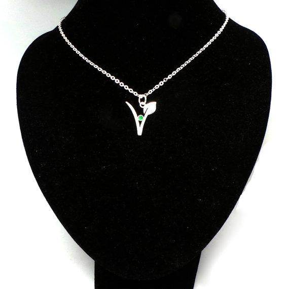 Vegan Symbol Shaped Necklace