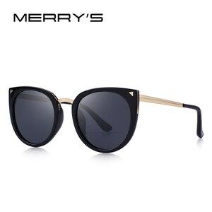 Image 3 - MERRYS DESIGN Children Cat Eye Sunglasses Girls Polarized Sunglasses UV400 Protection S7000
