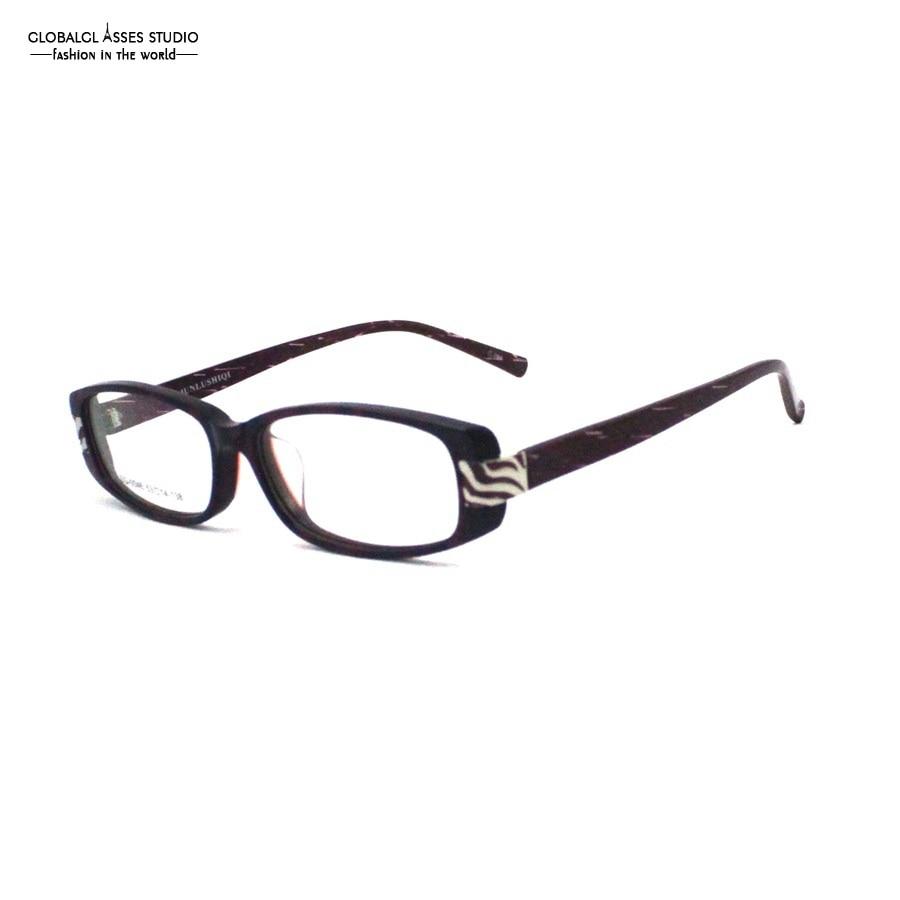 fa3e9e612 Quadro de Óculos de Acetato de Design italiano Mulheres Roxo Cor Branca Mix  Paisley Padrão Dos Alunos Prescrição Frame Ótico SQ 0046 em Armações de  óculos ...