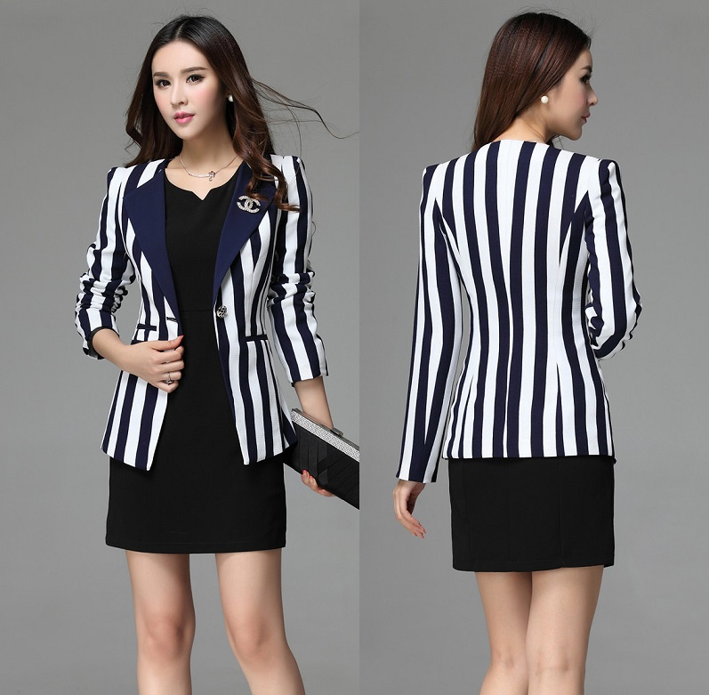 Free Shipping Uniform Design Business Suits For Women Blazers