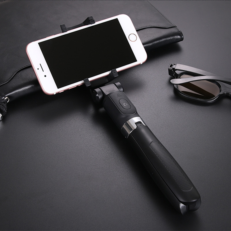 7ba92a2b0d20be Bluetooth Selfie Stick Tripod 360 Degree Rotating Portable For Mobile Phone Android  iOS New Arrival