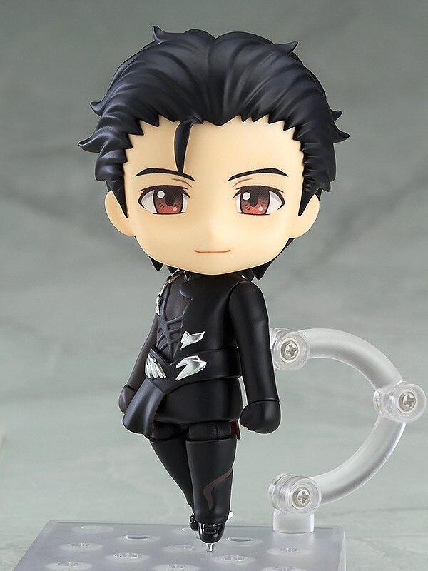 10cm YURI!!! on ICE YURI on ICE Katsuki Yuri black Action figure toys collection doll Christmas gift