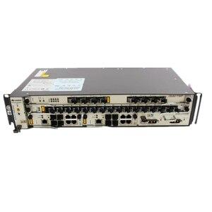 Image 1 - Оригинальный Новый GPON HUAWEI OLT MA5608T с 1*2 * MCUD 1*2MPWD, плата питания переменного и постоянного тока, 1 * GPFD 8*16 портов GPON с модулем C + + SFP
