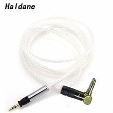 цена на Free Shipping Haldane 7N OCC Silver Plated Headphone Upgraded Cable for Momentum Y40 Y50 Headphone Upgrade Cable