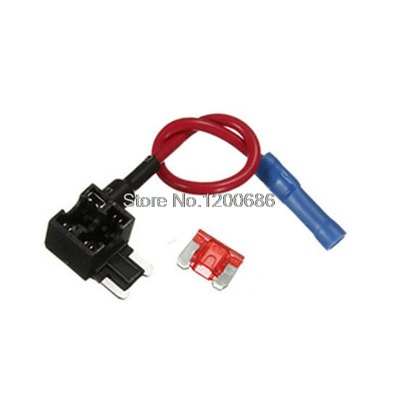 us $5 3 12v car add a circuit fuse tap adapter mini atm apm blade fuse holder in fuses from home improvement on aliexpress com alibaba group  auto vehicle 12v car add a circuit fuse