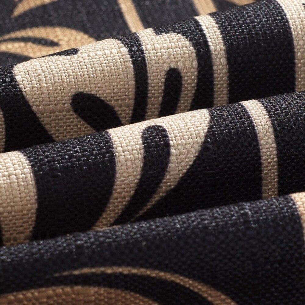 Роскошный золотой с цветочным принтом подушки Чехлы домашнего декора наволочки декоративные стул, диван площадь Подушка Чехол 45x45 см