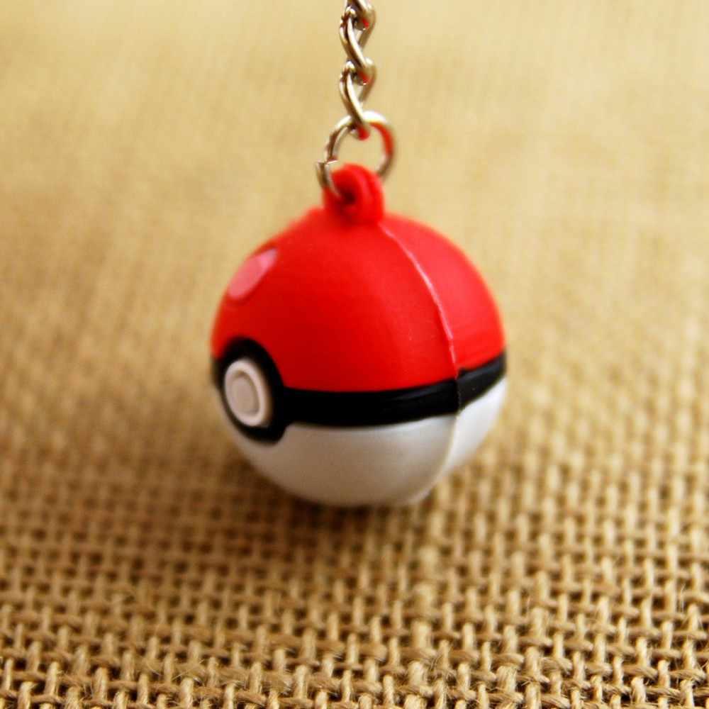 3d pokeball chaveiro pokemon go jogo chaveiro chaveiro anime bolso monstro chaveiro portachiavi llaveros hombre saco charme