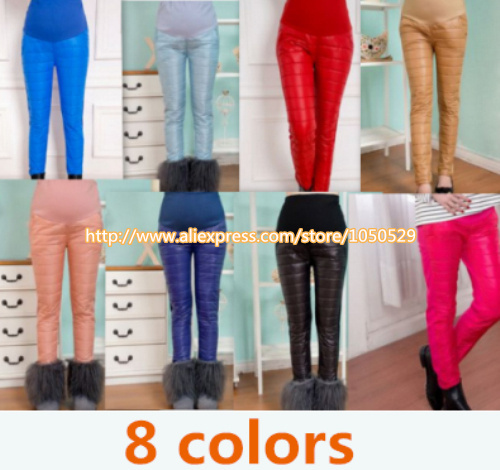 2015 Maternity leggings Winter Pants for Pregnant Warm Clothes for Pregnant Women,Thickening Pregnancy Trousers Leggings M161 winter maternity plus velvet thickening leggings pants clothes for pregnant women warm high waist suspender pregnancy trousers