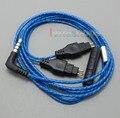 With Mic Remote Volume Cable For Sennheiser HD25 HD650 HD600 HD580 HD525 HD565 Headphone