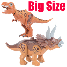 Jurassic World Tyrannosaurus Rex Building Blocks Dinosaur Figures Bricks Toys Classic Collection Toy