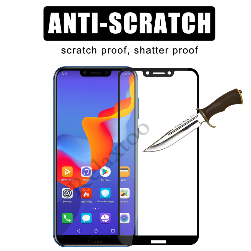 Image 4 - 2pcs/lot On Honor Play Glass For Huawei Honor Play 6.3 COR L29 Tempered Glas Hauwei Hono Play Protective Film Screen Protector-in Phone Screen Protectors from Cellphones & Telecommunications