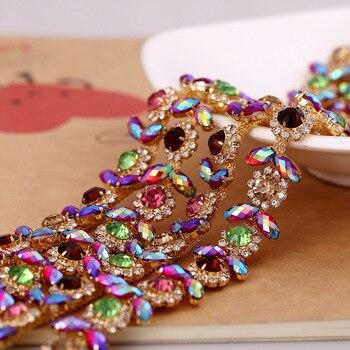 BÁN HOT! hướng dương claw Thạch chains áp dụng cho Quần Áo Trang Trí và DIY mũ sắt jewelry phụ kiện 1 yard/bãi