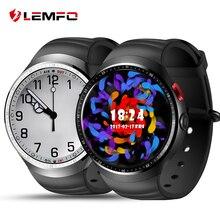 2017 Lemfo Новое Поступление Смарт часы-телефон LES1 Android 5.1 1 ГБ + 16 ГБ Bluetooth SmartWatch для IOS Android-смартфон