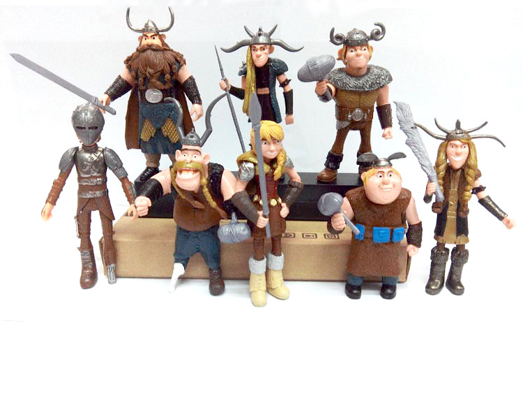 Anime How to Train Your Dragon 2 Action Figure – Gronckle Deadly Nadder